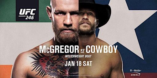 UFC 246 – MCGREGOR VS. CERRONE