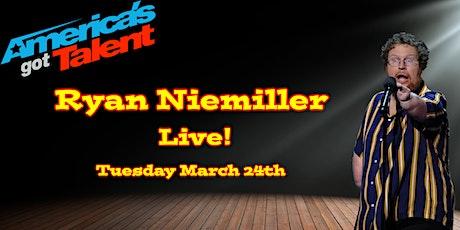 America's Got Talent's Ryan Niemiller Live in Memphis tickets