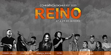 Conferência Dignus Est 2020 - Reino ingressos