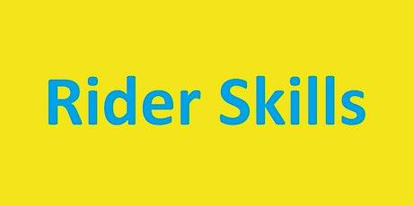Rider Skills Day tickets