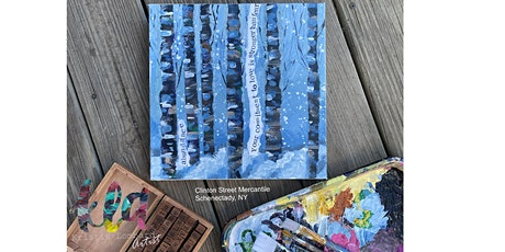 Painting Workshop - Birch Trees & Affirmations tickets