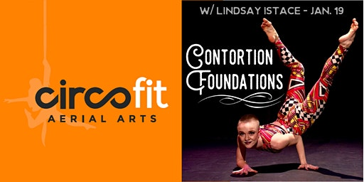 WORKSHOP: Contortion Foundations with Lindsay Istace Jan 19th