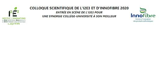"""Concours d'affiche """"Colloque Scientifique I2E3-INNOFIBRE"""""""