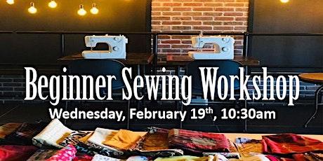 Beginner Sewing Workshop tickets