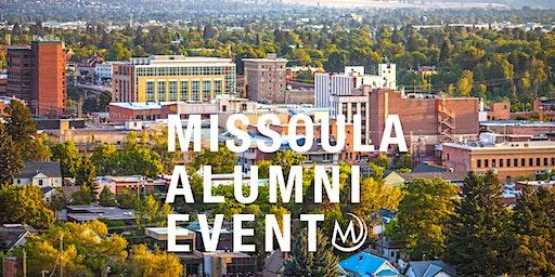 Missoula Alumni Event - Property Taxes