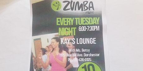 Zumba Tuesdays @Kay's tickets
