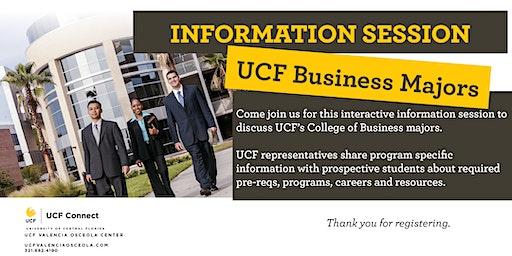 UCF Business Majors Information Session- Valencia Osceola