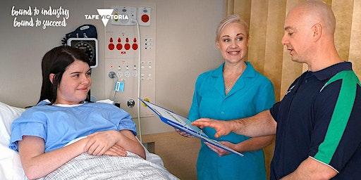 Bendigo TAFE | Info Session: Diploma of Nursing (HLT54115)-Free TAFE course