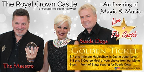 An Evening of Magic and Music tickets