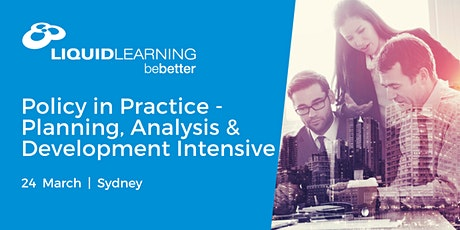 Policy in Practice - Planning, Analysis & Development Intensive tickets