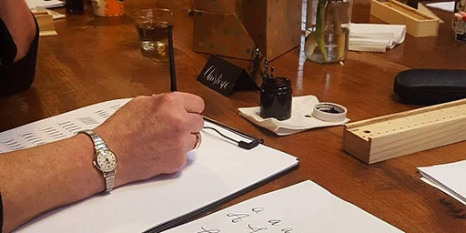 Contemporary Pointed Pen Beginner's Calligraphy Workshop