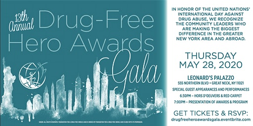 13th Annual Drug Free Hero Awards Gala