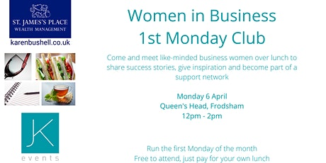Women in Business - 1st Monday Club tickets