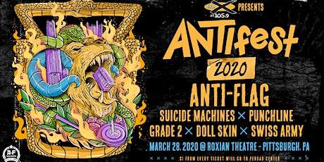 ANTIfest 2020 with Anti-Flag tickets