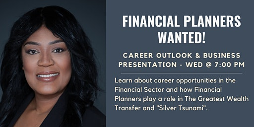 Financial Planner's Wanted - Business Presentation Meeting