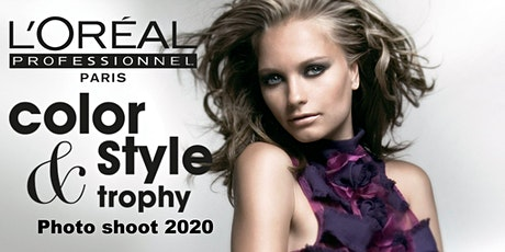 L'Oreal Professionnel Color and Style Trophy Canada Photo Shoot. tickets
