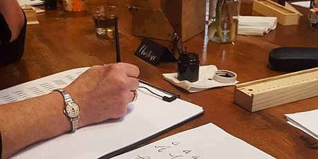 Contemporary Pointed Pen Beginner's Calligraphy Workshop tickets