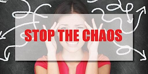 CB Bain | Stop the Chaos (3 CE-WA)  | Longview | February 20th 2020