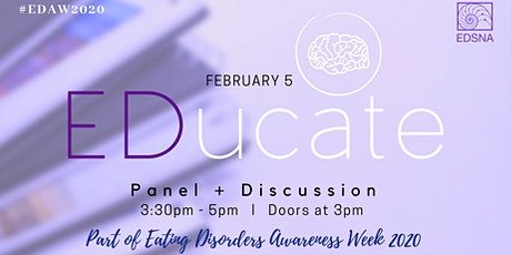 ED_ucate : Eating Disorders Panel & Discussion tickets