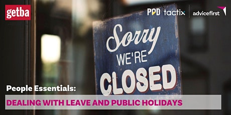 People Essentials: Dealing with leave and public holidays tickets