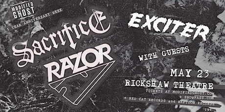 Sacrifice, Razor, Exciter, Witches Hammer, and more