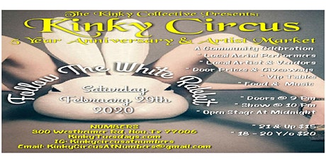 Kinky Circus: Follow the White Rabbit: Silver Tables tickets