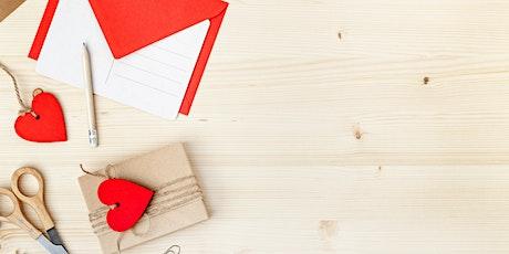 Love Letters: DIY Card Art - Perimeter tickets