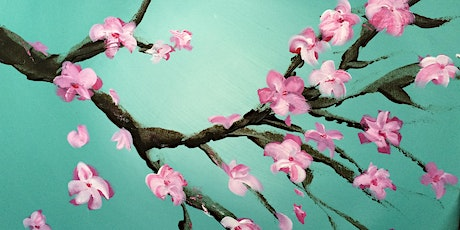 Paint & Sip Cherry Blossoms Paint Night tickets