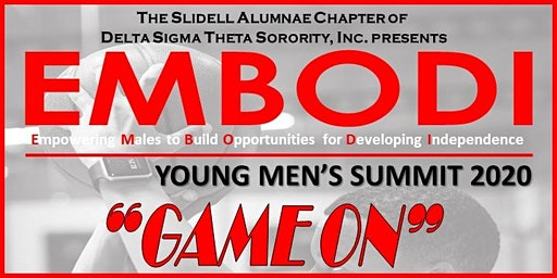 2020 EMBODI YOUNG MEN'S SUMMIT