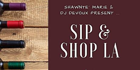 Sip & Shop LA tickets