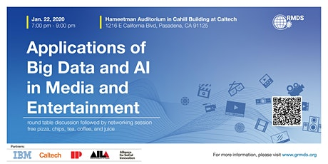 Applications of Big Data and AI in Media and Entertainment tickets