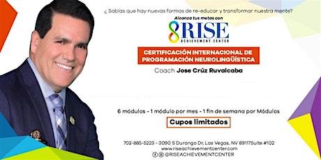 Certificacion Internacional PNL tickets
