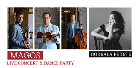 Magos concert and dance house - Hungarian folk music and dance event tickets