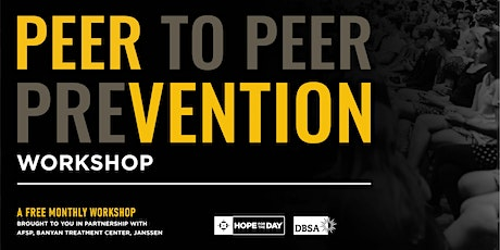 January PEERvention Workshop featuring DBSA of Greater Chicago tickets