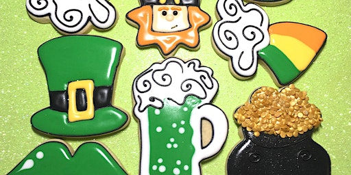 St. Paddy's Day cookie class Saturday 3/14/2020 1-4pmSoldout