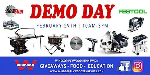 Festool & SawStop Demo Day