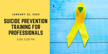 Suicide Prevention for Professionals Training tickets