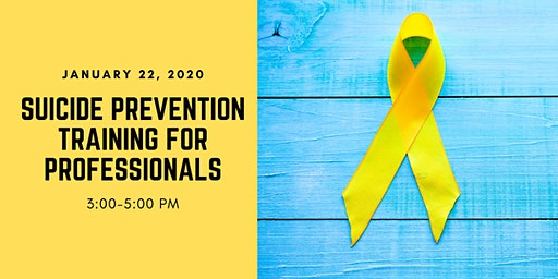 Suicide Prevention for Professionals Training