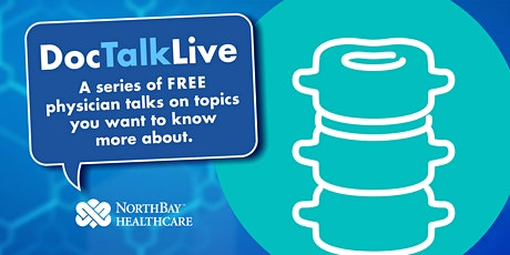 Doc Talk Live: Take Control of Your Aching Back (Vacaville) tickets