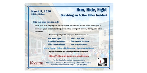 Run, Hide, Fight - Surviving an Active Killer Incident