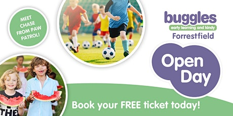 Buggles Forrestfield Open Day tickets