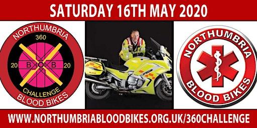 Northumbria Blood Bikes 360 Challenge 2020