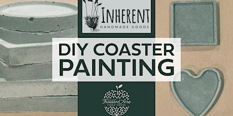 Inherent Handmade Coaster Painting tickets