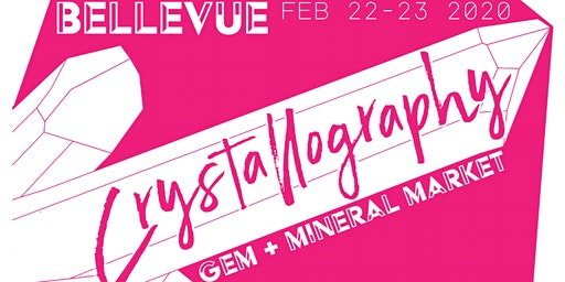 Crystallography Gem Mineral Market Bellevue: Rocks Gems Art Psychic Fair +