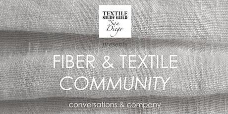 Fiber & Textile Community | conversations & company tickets