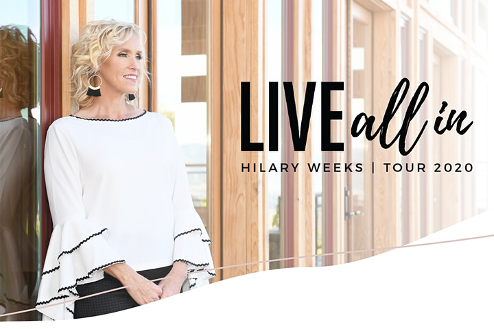 CANCELLED: Hilary Weeks - Live All In - Civic Auditorium - March 19, 7:30pm image