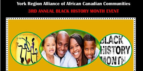 York Region AACC  2020 Black History Month Event tickets