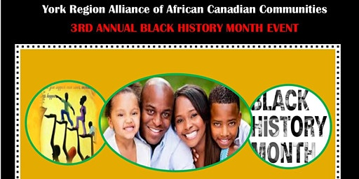 York Region AACC  2020 Black History Month Event