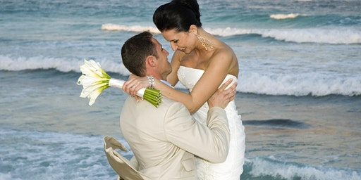 Sunset Beach Wedding Vow Renewal