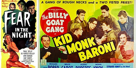 TFS Trekkers Double Feature: Fear in the Night and Kid Monk Baroni tickets